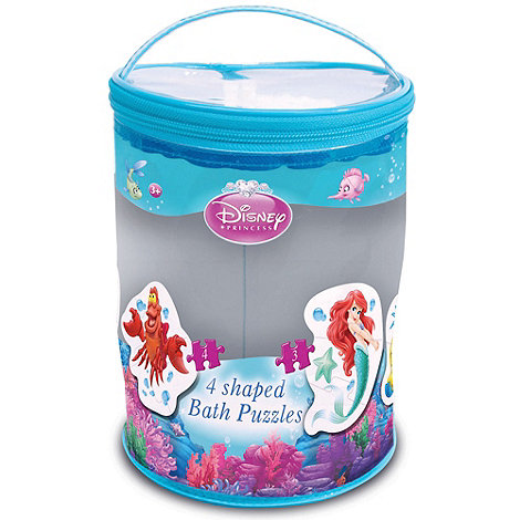 Disney - Disney+s Little Mermaid Ariel 4 Shaped Bath Jigsaw Puzzles