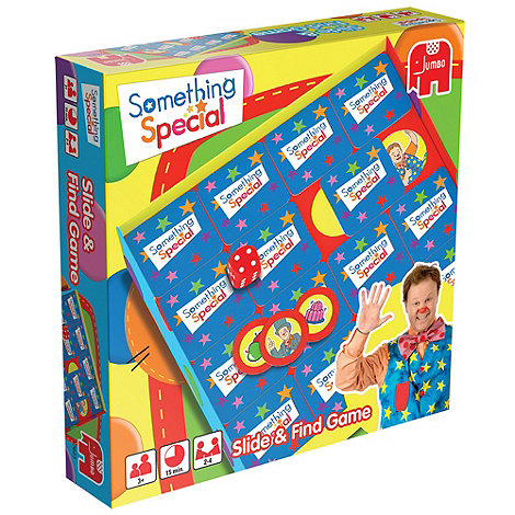 Something Special - Mr Tumble Slide and Find Memo Game
