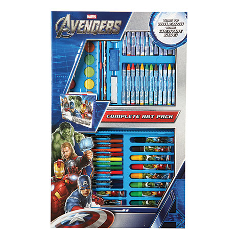 The Avengers - Complete Art Pack (67 Pieces)