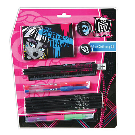 Monster High - Deluxe Stationery Set