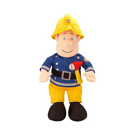 Fireman Sam - Talking plush toy