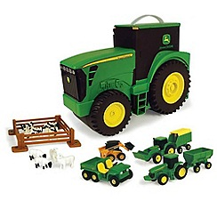 Britains Farm - John Deere Carry Case Value Set