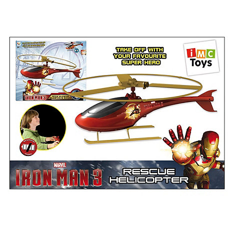 Iron Man - Ripcord Helicopter
