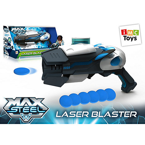 Max Steel - L & S Disc Blaster