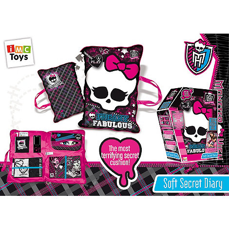 Monster High - Soft Secret Diary