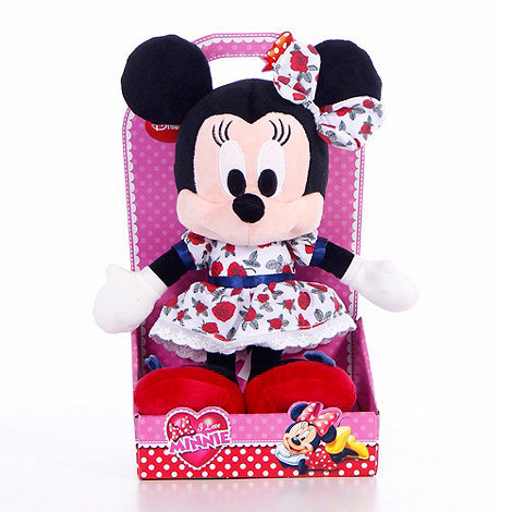 Minnie Mouse - I Love 10inch Rose In Gift Box