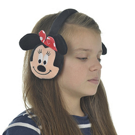 Minnie Mouse - Red Bow Ear Muffs