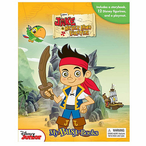 Jake & The Neverland Pirates - Busy Book