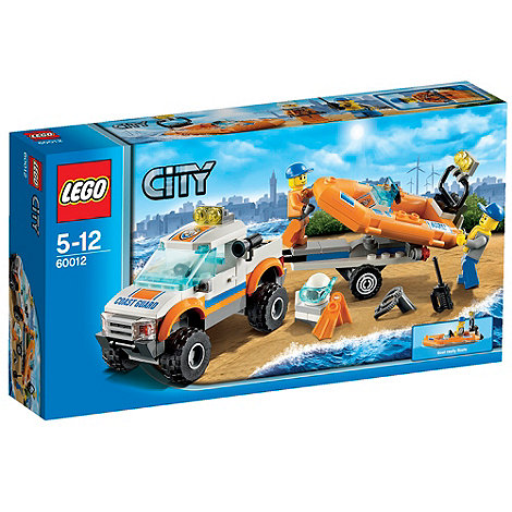 LEGO - City Coast Guard 4X4 & Diving Boat - 60012