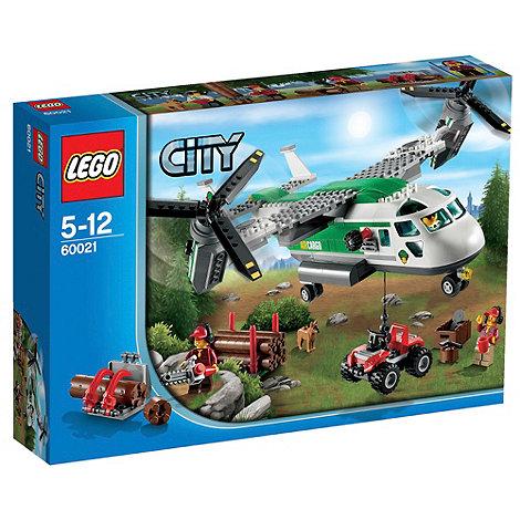 LEGO - City Airport Cargo Heli Plane - 60021