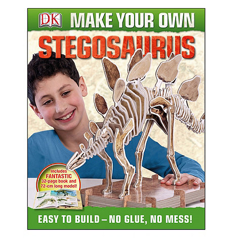 DK Books - Make Your Own Stegosaurus