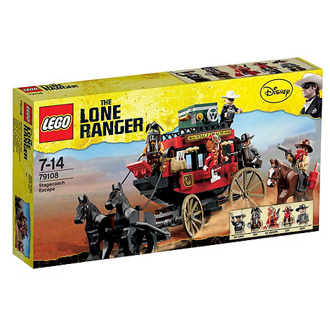 LEGO - Lone Ranger Stage Coach Escape - 79108