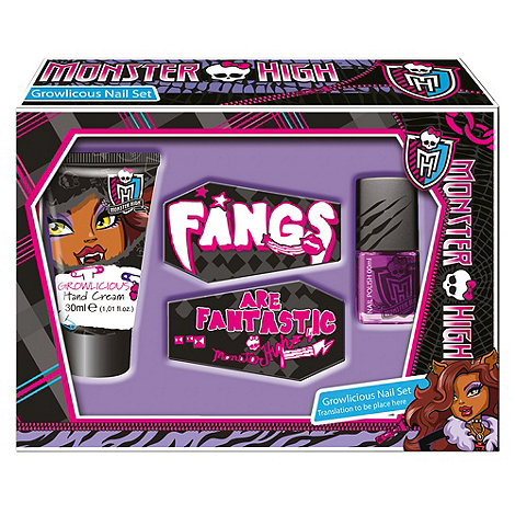 Monster High - Hand & Nailcare set