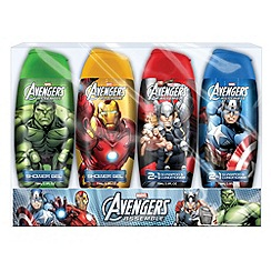 The Avengers - Travel Bath & Shower Gel Collection