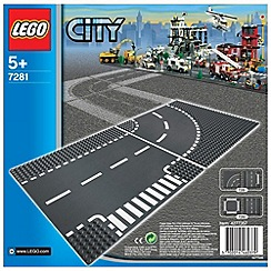 LEGO - City T-Junction & Curve - 7281