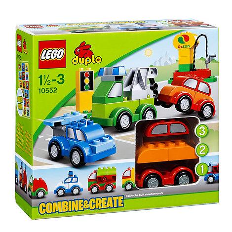 LEGO - Duplo Creative Cars - 10552