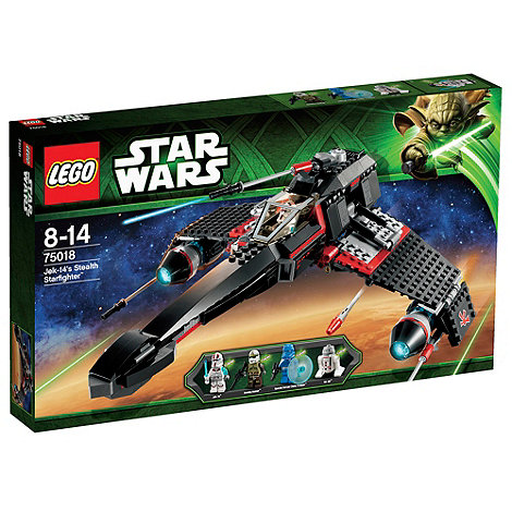LEGO - Starwars Jek-14S Stealth Starfighter - 75018