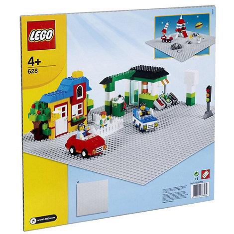 LEGO - Bricks Large Grey Building Plate 628