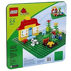 LEGO - Duplo« Large Green Building Plate - 2304