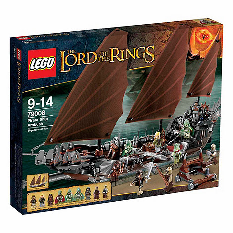 LEGO - Lord of the Rings Pirate Ship Ambush - 79008