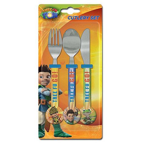 Tree Fu Tom - 3 Piece Cutlery