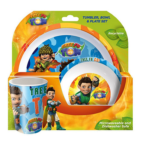 Tree Fu Tom - Melamine 3 Piece Set