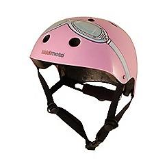 kiddimoto - Helmet 5 Years + Pink Goggle