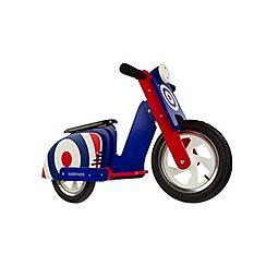 kiddimoto - Wooden Scooter Style Balance Bike - Mod Target