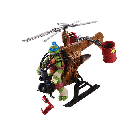 Teenage Mutant Ninja Turtles - Mutagen Ooze Drop Copter Vehicle