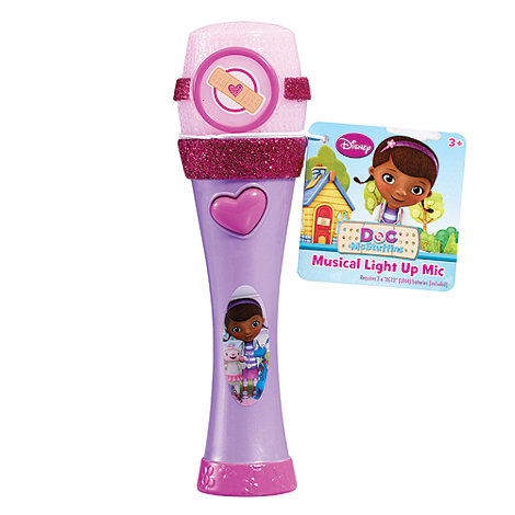 Doc McStuffins - Musical Light Up Microphone