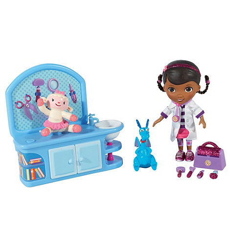 Doc McStuffins - Magic talking checkup set