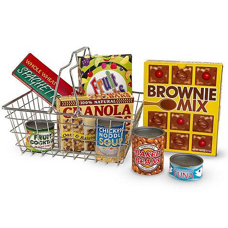 Melissa & Doug - Grocery Basket