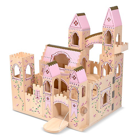 Melissa & Doug - Folding large princess wooden castle
