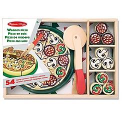 Melissa & Doug - Wooden Pizza Party Set