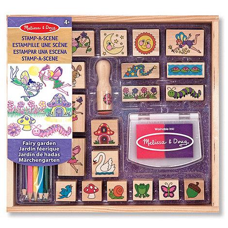 Melissa & Doug - Stamp A Scene - Fairy Garden