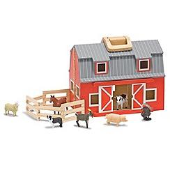 Melissa & Doug - Fold & Go Wooden Barn
