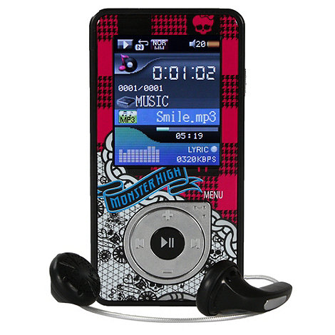 Monster High - Mp4 Player 4GB with screen