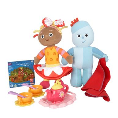 Iggle Piggle & Upsy Daisy tea party