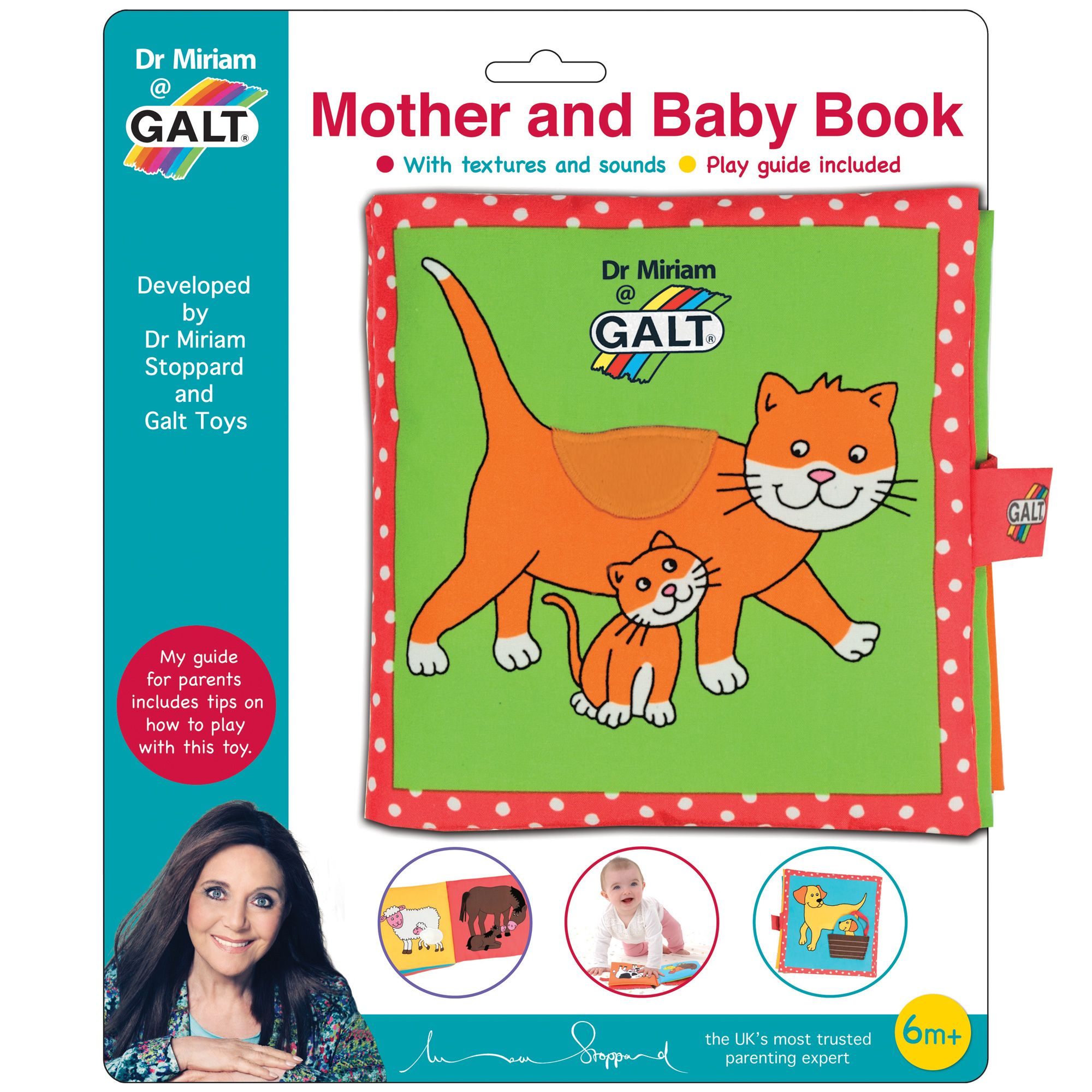 Mother And Baby Gifts Delivered Uk : Galt dr miriam mother baby book from debenhams