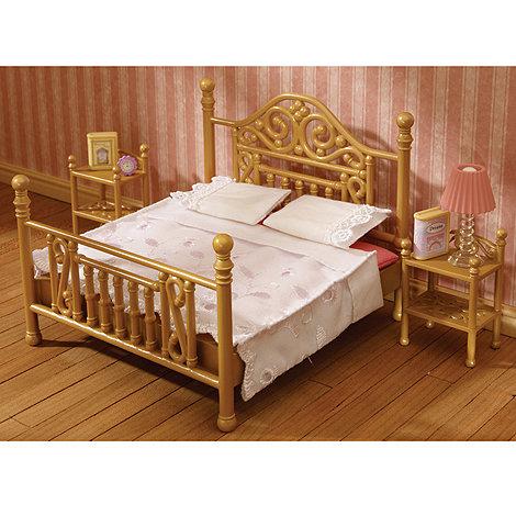 Sylvanian Families - Luxury Brass Bed