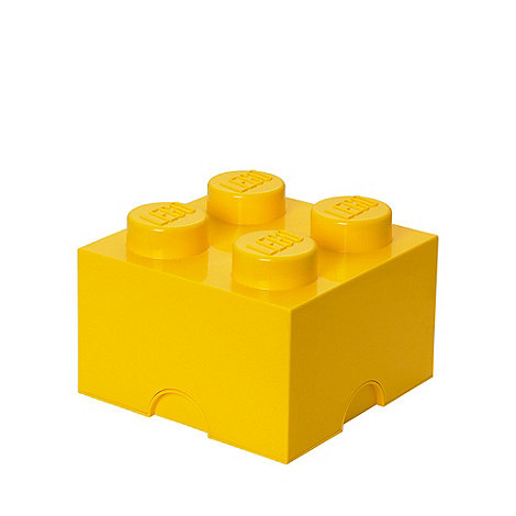 LEGO - Storage Brick 4 - Yellow