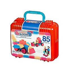 Bristle Blocks - Big value case - 85 pieces