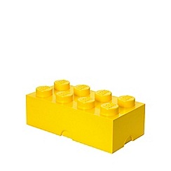 LEGO - Storage Brick 8 - Yellow