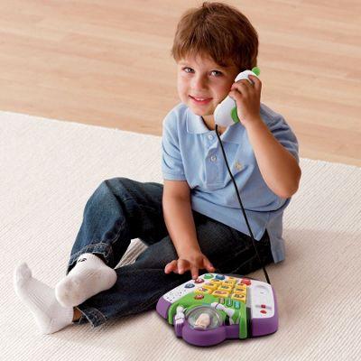 Toy Story Vtech Buzz Lightyear desktop phone