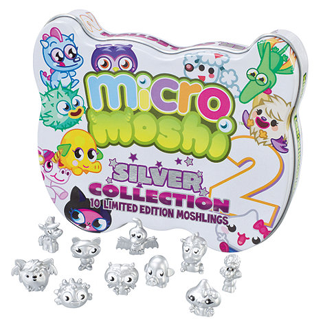 Moshi Monsters - MICRO Silver Collector Tin - Edition 2