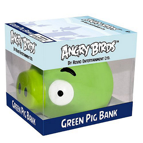 Angry Birds - Green Pig Money Bank