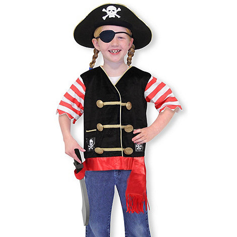 Melissa & Doug - Pirate costume role play set