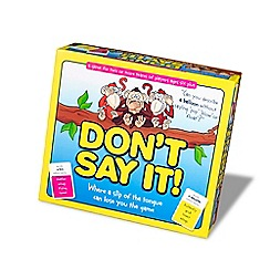 Chimp n Zee - Don't say it game