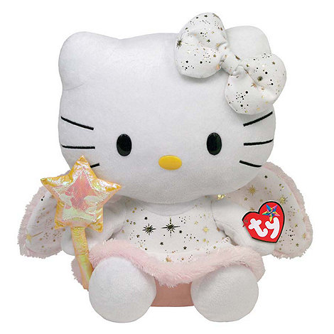Hello Kitty - 12inch Gold Angel soft toy