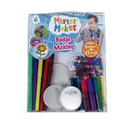 Mister Maker badge making